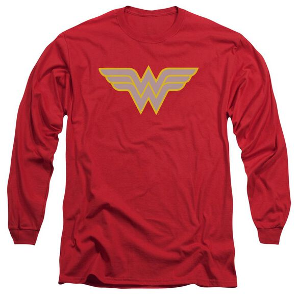 Dc Ww Logo Long Sleeve Adult T-Shirt
