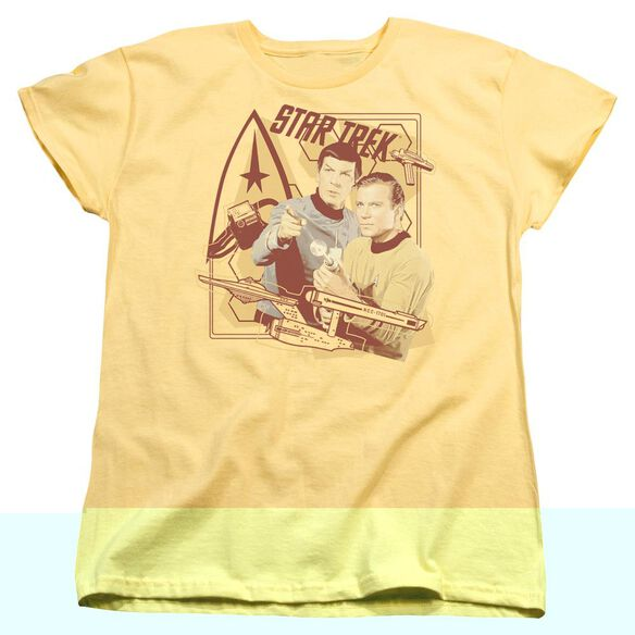 Star Trek Shoot That Thing Short Sleeve Womens Tee T-Shirt