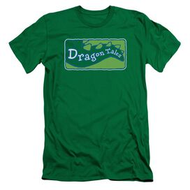Dragon Tales Logo Clean Short Sleeve Adult Kelly T-Shirt