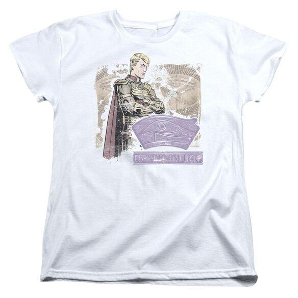 Watchmen Ozymandias Short Sleeve Womens Tee T-Shirt