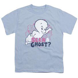 Casper Seen A Ghost Short Sleeve Youth Light T-Shirt