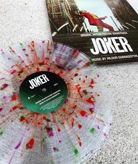 Hildur Guðnadóttir - Joker Original Motion Picture Score [Exclusive Color Splatter on Clear Vinyl]