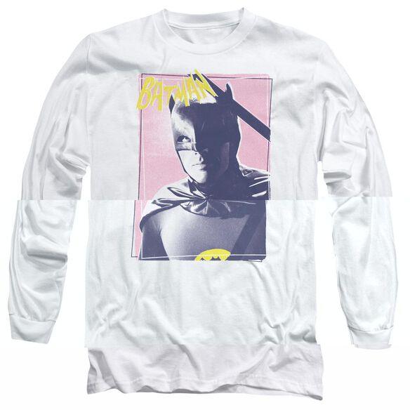 BATMAN CLASSIC TV WAYNE 80S-L/S T-Shirt