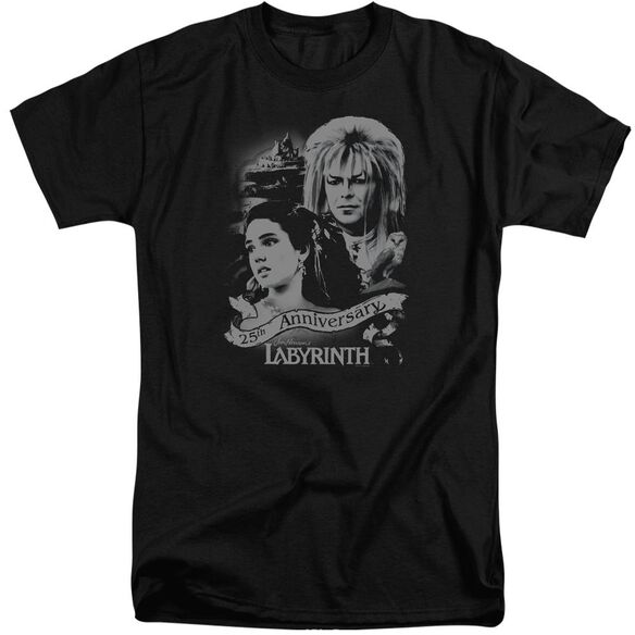 Labyrinth Anniversary Short Sleeve Adult Tall T-Shirt