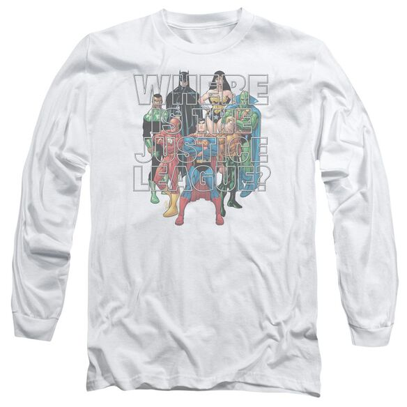 Jla Classified #1 Cover Long Sleeve Adult T-Shirt