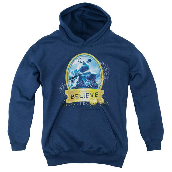Polar Express True Believer Youth Pull Over Hoodie