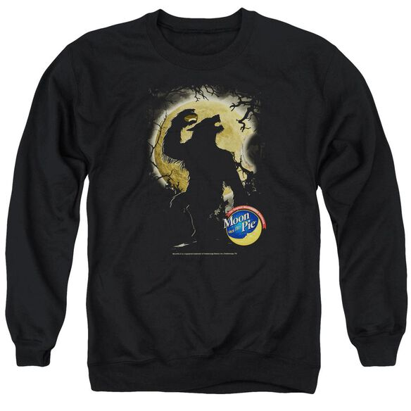Moon Pie Howling Moon Pie Adult Crewneck Sweatshirt