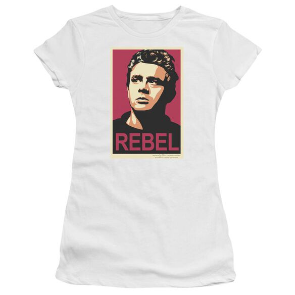 Dean Rebel Campaign Short Sleeve Junior Sheer T-Shirt