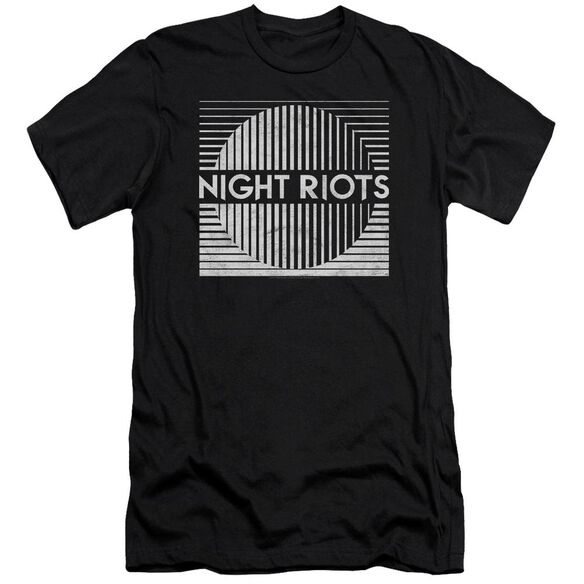 Night Riots Title Hbo Short Sleeve Adult T-Shirt