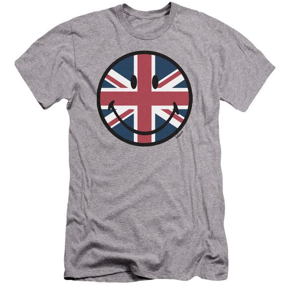 Smiley World Union Jack Face Premuim Canvas Adult Slim Fit Athletic