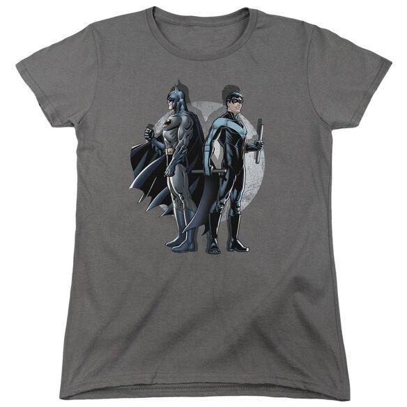 Batman Spotlight Short Sleeve Womens Tee T-Shirt