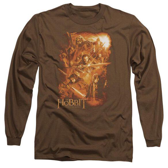 The Hobbit Epic Adventure Long Sleeve Adult T-Shirt