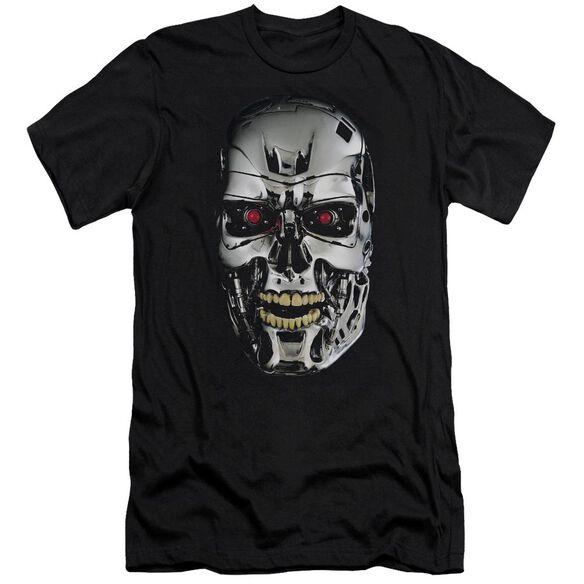 Terminator Skull Premuim Canvas Adult Slim Fit