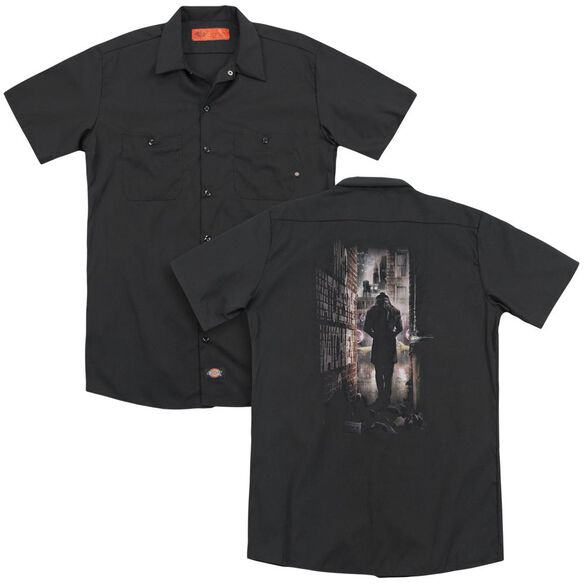Watchmen Alley (Back Print) Adult Work Shirt