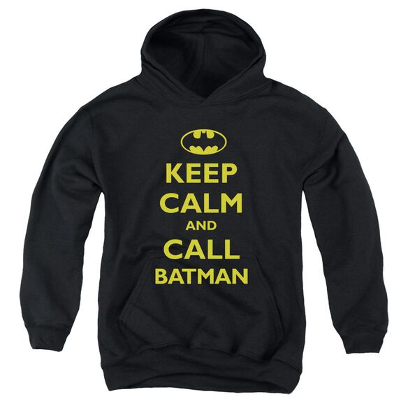 Batman Call Batman Youth Pull Over Hoodie