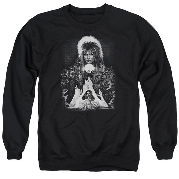 Labyrinth Castle Adult Crewneck Sweatshirt