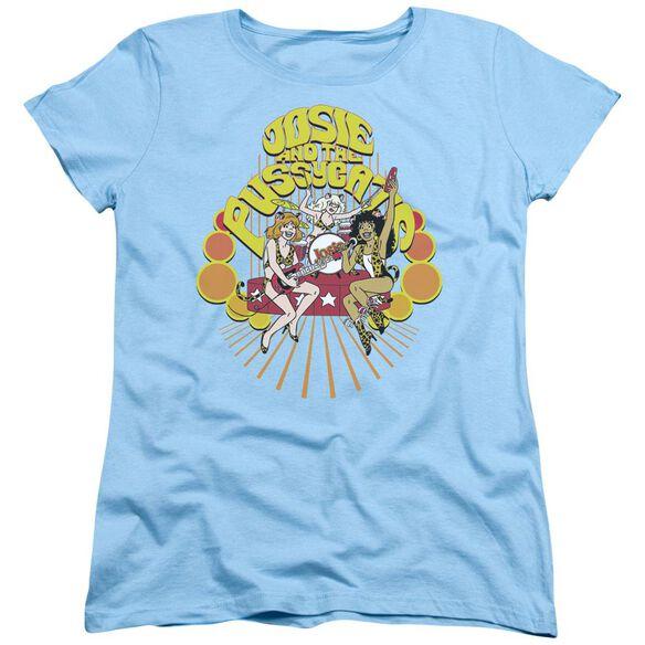 Archie Comics Groovy Rock & Roll Short Sleeve Women's Tee Light T-Shirt