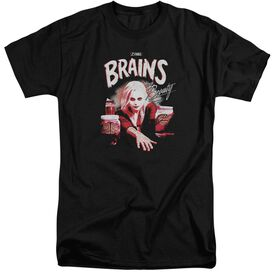 Izombie Brains And Beauty Short Sleeve Adult Tall T-Shirt