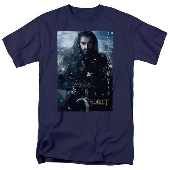 The Hobbit Thorin Poster Short Sleeve Adult T-Shirt