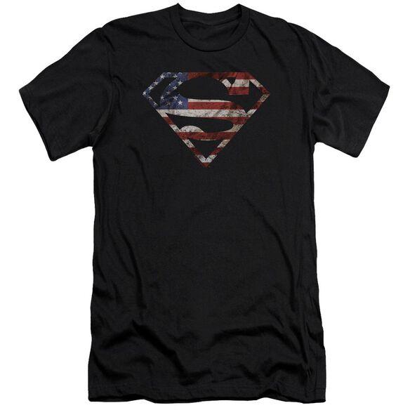Superman Super Patriot Premuim Canvas Adult Slim Fit