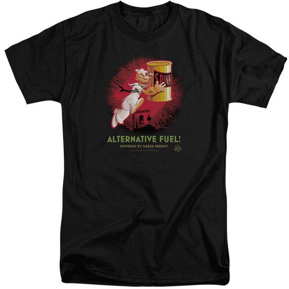 Popeye Alternative Fuel Short Sleeve Adult Tall T-Shirt