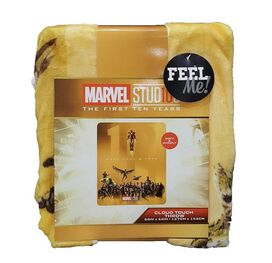 Marvel Studios The First Ten Years Super Soft Blanket