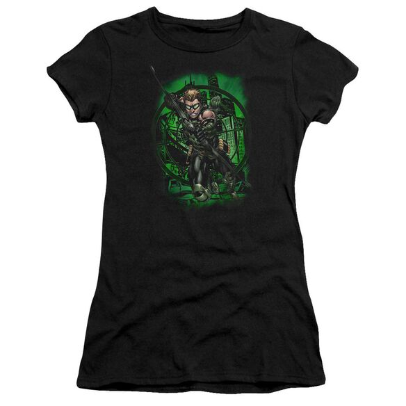 Jla In My Sight Short Sleeve Junior Sheer T-Shirt