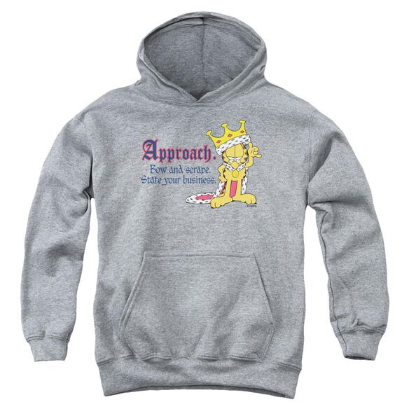 Garfield State Your Business Youth Pull Over Hoodie