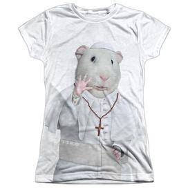 Pets Rock Church Short Sleeve Junior Poly Crew T-Shirt