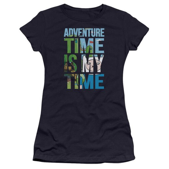 Adventure Time My Time Hbo Short Sleeve Junior Sheer T-Shirt