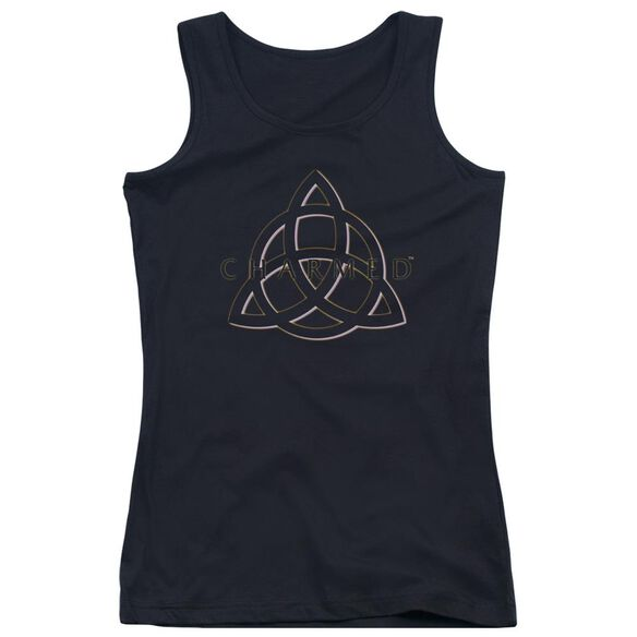 Charmed Triple Linked Logo Juniors Tank Top