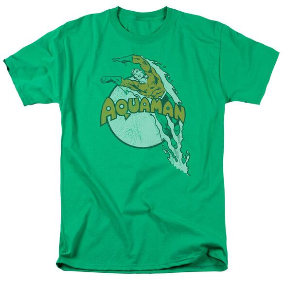 Dc Splash Short Sleeve Adult Kelly T-Shirt