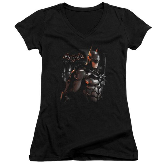 Batman Arkham Knight Dark Knight Junior V Neck T-Shirt