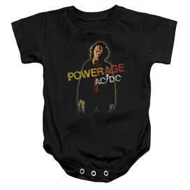 Acdc Powerage Infant Snapsuit Black