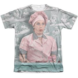 I LOVE LUCY CHOCOLATE BELT-ADULT POLY/COTTON T-Shirt