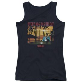 Scarface A Dog Day Juniors Tank Top
