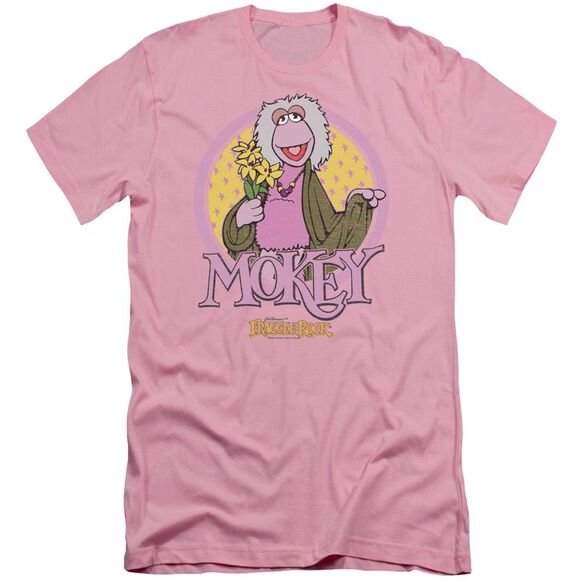 Fraggle Rock Mokey Circle Short Sleeve Adult T-Shirt