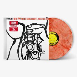 Miles Davis - Miles Davis Quintet- Cookin' With Miles Davis [Exclusive Clear with Red Hi-Melt Vinyl]