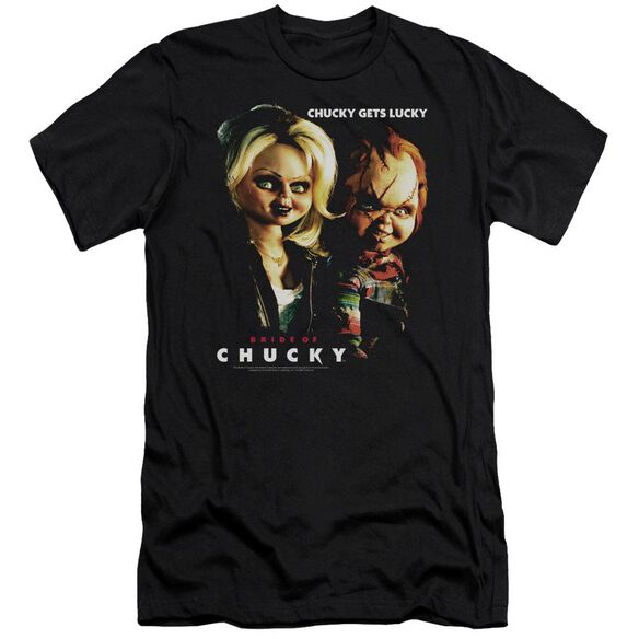 Bride Of Chucky Chucky Gets Lucky Premuim Canvas Adult Slim Fit