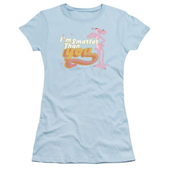 Pink Panther Smart Cat Short Sleeve Junior Sheer Light T-Shirt