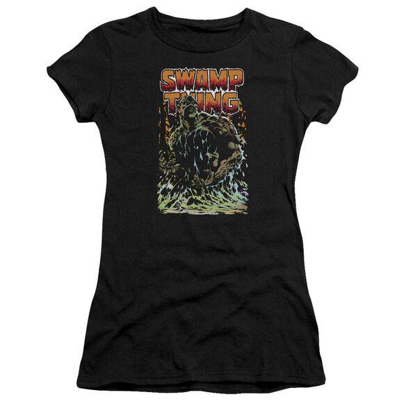 Jla Swamp Thing Premium Bella Junior Sheer Jersey