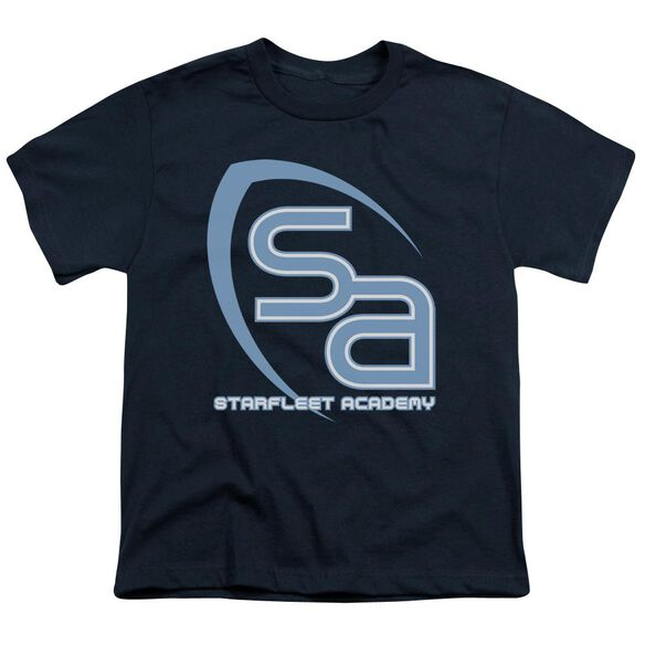 Star Trek Sa Logo Short Sleeve Youth T-Shirt