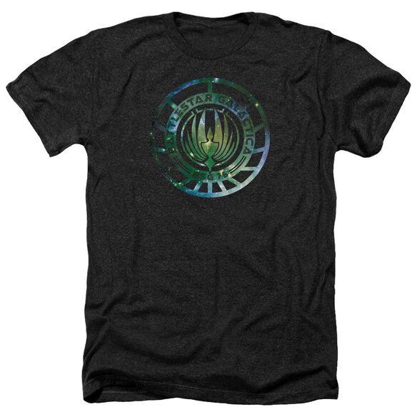 Battlestar Galactica (New) Galaxy Emblem Adult Heather