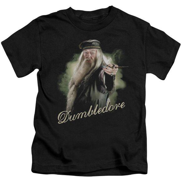 Harry Potter Dumbledore Wand Short Sleeve Juvenile T-Shirt