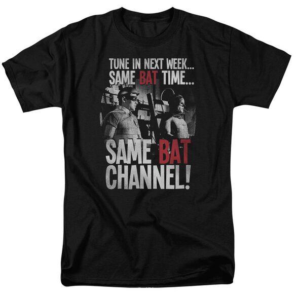 Batman Classic Tv Bat Channel Short Sleeve Adult T-Shirt