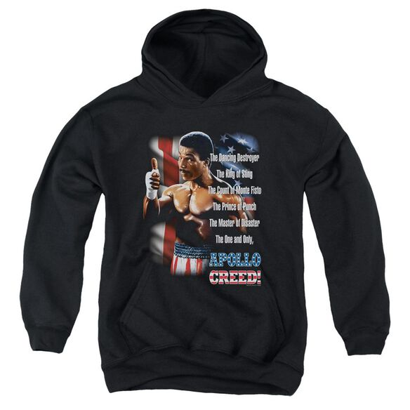 Rocky Ii The One And Only Youth Pull Over Hoodie