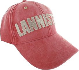 Game of Thrones Lannister Name Faded Red Hat