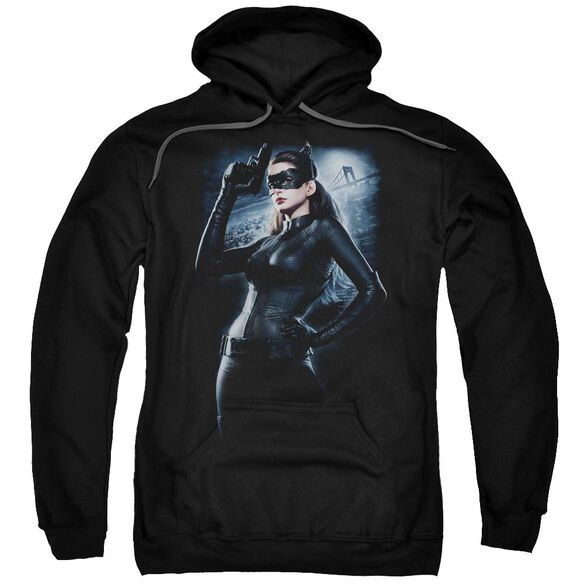 Dark Knight Rises Out On The Town Adult Pull Over Hoodie
