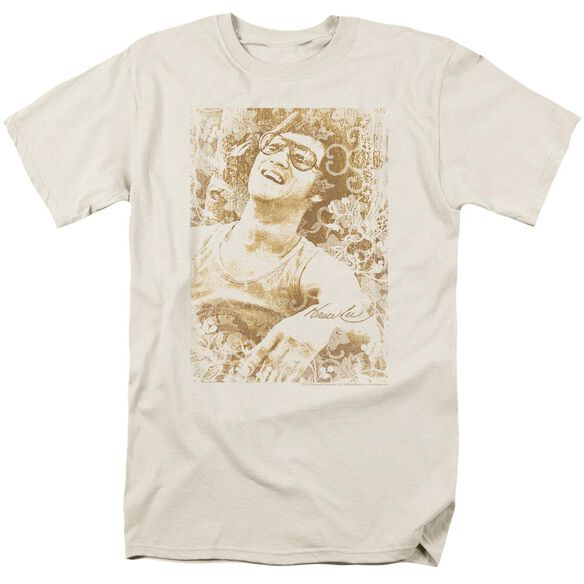 Bruce Lee Freedom Short Sleeve Adult Cream T-Shirt