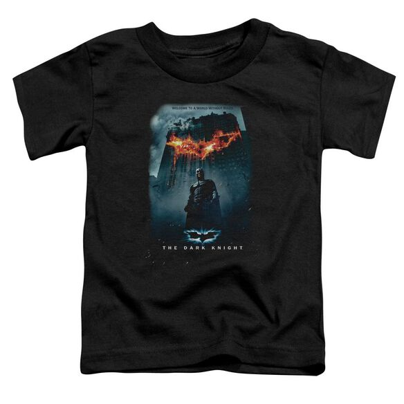 Dark Knight Without Rules Poster Short Sleeve Toddler Tee Black T-Shirt